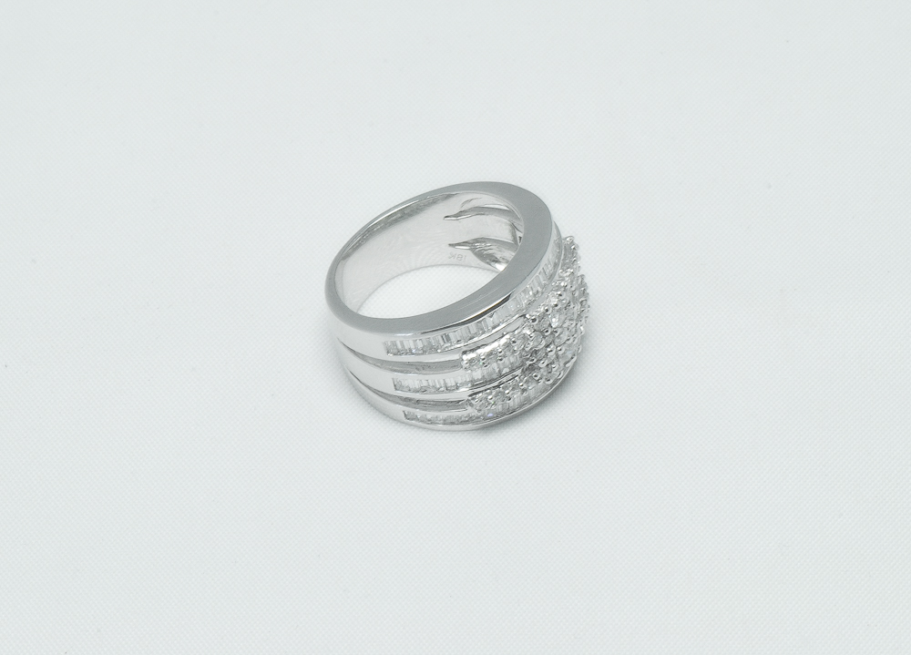 Sortija oro Diamantes