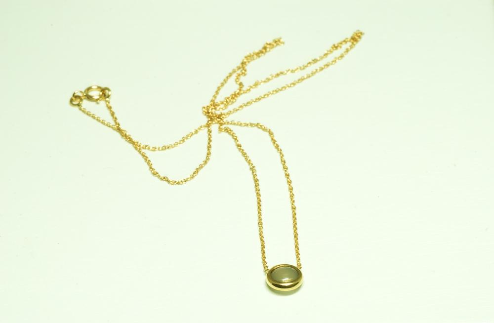 Collar oro XS piedra