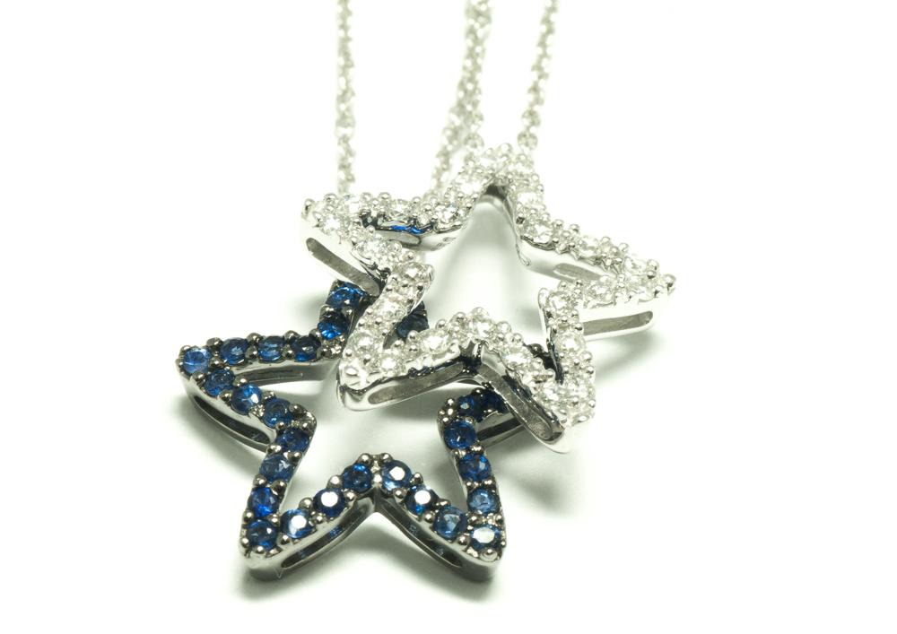Colgante estrellas